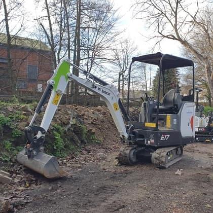 Digger hire Derbyshire